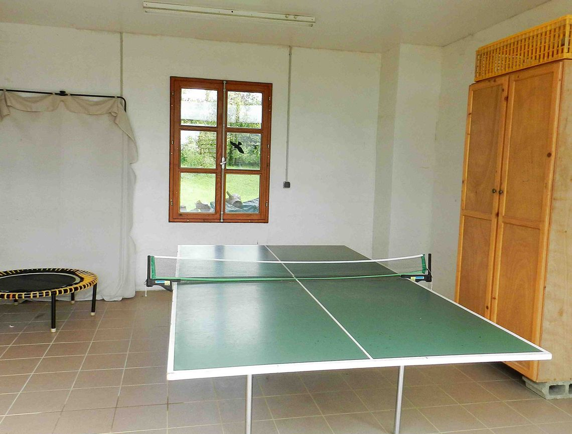 Ping-pong et trampoline