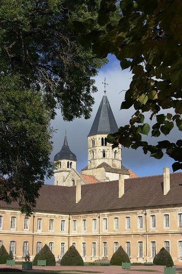 Kloster in Cluny